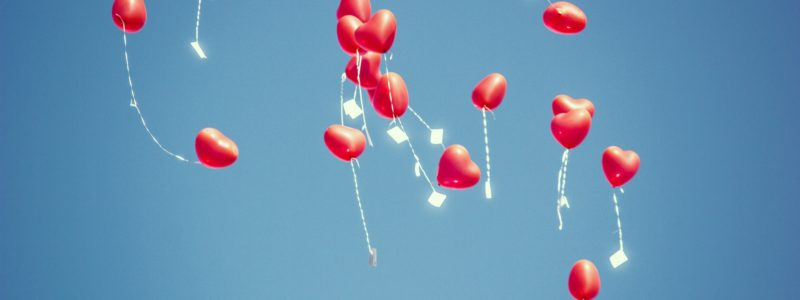 Heart Balloons For Dating